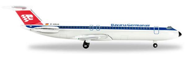 Herpa 524179 - Bac 1-11-500 Extra Shop Germanair Bavaria