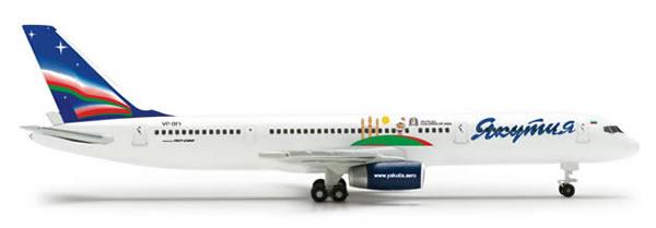 Herpa 524186 - Boeing 757-200 (37.95) Yakutia - Children Of Asia