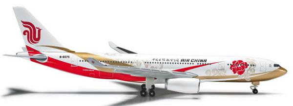 Herpa 524339 - Airbus 330-200 (46.95) Air China - Forbidden Pavi...