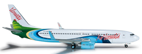 Herpa 524346 - Boeing 737-800 Extra Shop Air Vanuatu