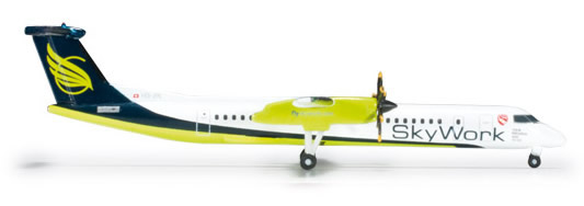 Herpa 524377 - Bombardier Q400 (34.50) Sky Work Airlines