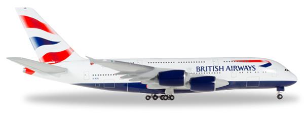 Herpa 524391 - Airbus 380 524391-002 British Airways