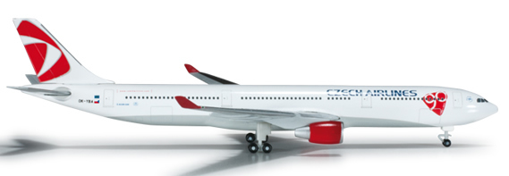 Herpa 524520 - Airbus 330-300 CSA Czech Airlines