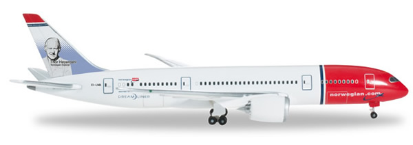 Herpa 524583 - Boeing 787-8 524582-001 Norwegian Air Shuttle
