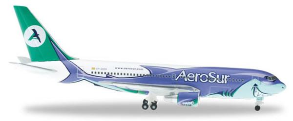 Herpa 524643 - Boeing 767-200 Extra Shop Aerosur, Sharko