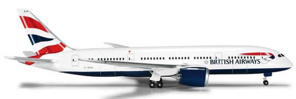 Herpa 524698 - Boeing 787-8 (48.95) British Airways