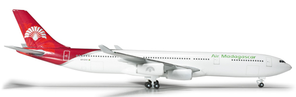 Herpa 524889 - Airbus 340-300 Air Madagascar