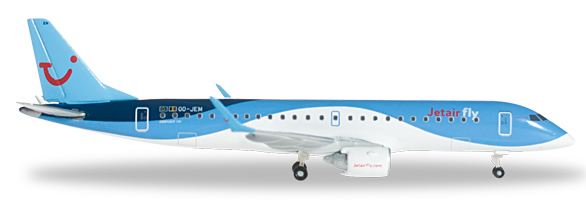 Herpa 524926 - Embraer 190 (39.95) Jetairfly - Explorer