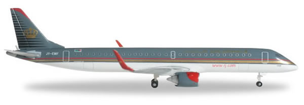 Herpa 524940 - Embraer 195 Royal Jordanian