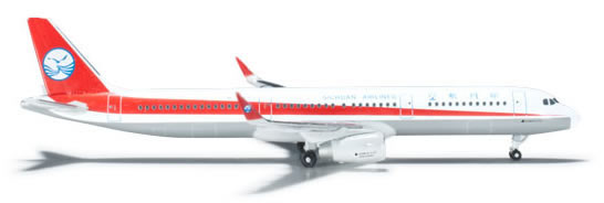 Herpa 524964 - Airbus 321 Sichuan Airlines
