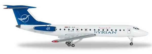 Herpa 524988 - Tupolev 143B-3 Syrian Air