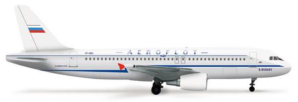 Herpa 525930 - Airbus 320 Aeroflot Retrojet