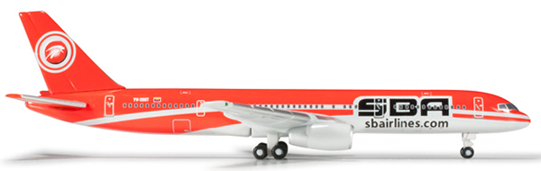 Herpa 526029 - Boeing 757-200 Extra Shop Sba Airlines