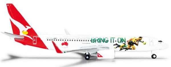 Herpa 526128 - Boeing 737-800 (39.75) Qantas - 2013 Lions Tour