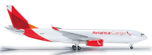 Herpa 526180 - Airbus 330-200f Avianca Cargo