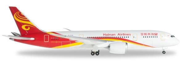 Herpa 526296 - Boeing 787-8 Hainan Airlines