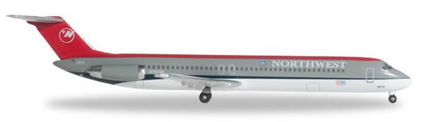 Herpa 526333 - DC-9-50 Northwest Airlines