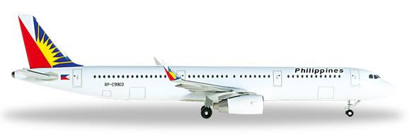 Herpa 526340 - Airbus 321 Philippine Air