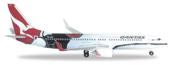 Herpa 526418 - Boeing 737-800 Qantas - Mendoowoorrji
