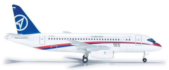Herpa 526425 - Sukhoi Superjet (38.95) Prototype