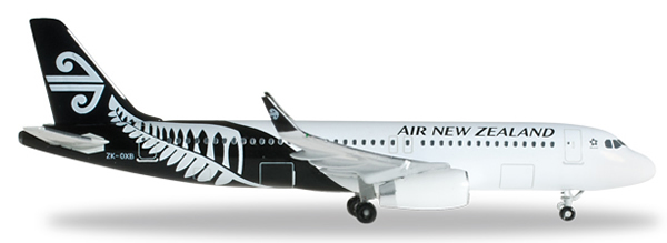 Herpa 526500 - Airbus 320 Air New Zealand