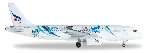 Herpa 526524 - Airbus 320 Bangkok Airways - Mascots