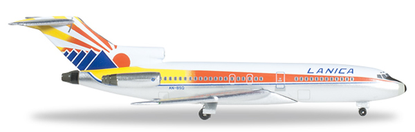 Herpa 526654 - Boeing 727-100 Extra Shop Lanica Airlines