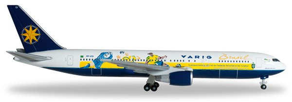 Herpa 526661 - Boeing 767-300 Extra Shop Varig, World Cup
