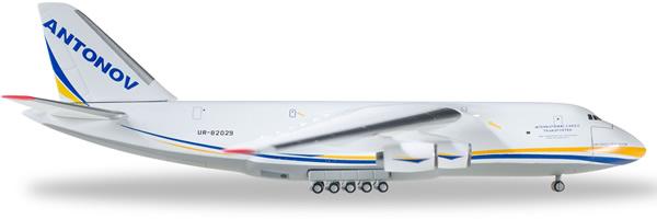 Herpa 526777 - Antonov 124 526777-002 Antonov Airlines