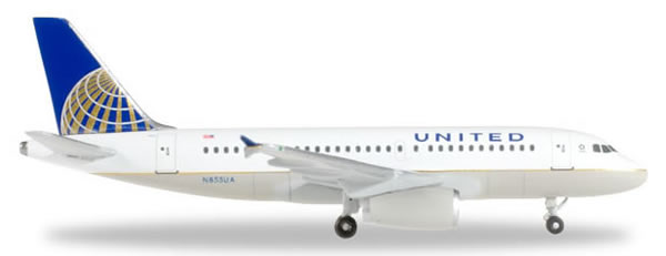 Herpa 526883 - Airbus 319 United Airlines