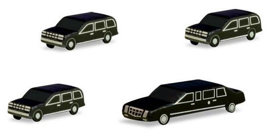 Herpa 526913 - Presidential Motorcade