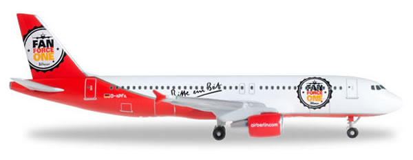 Herpa 526920 - Airbus 320 Airberlin - Fan Force One