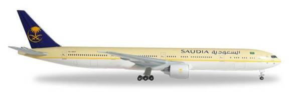 Herpa 526975 - Boeing 777-300er Saudia