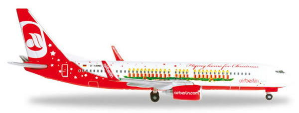 Herpa 527019 - Boeing 737-800 (38.95) Air Berlin - Christmas