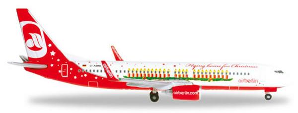 Herpa 527019 - Boeing 737-800 (38.95) Air Berlin - Christmas