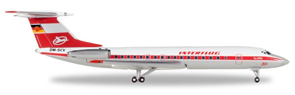 Herpa 527095 - Tupolev 134A Interflug