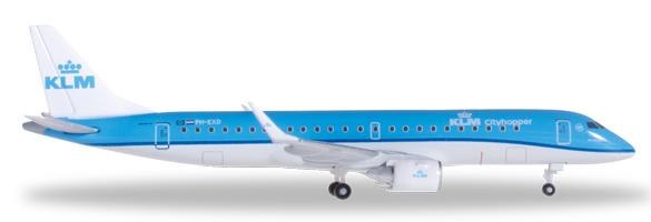 Herpa 527101 - Embraer 190 (38.95) KLM Cityhopper