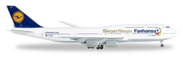 Herpa 527187 - Boeing 747-8 2014 World Cup - Lufthansa