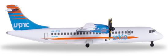 Herpa 527262 - ATR 72-500 Arkia Israel Airlines