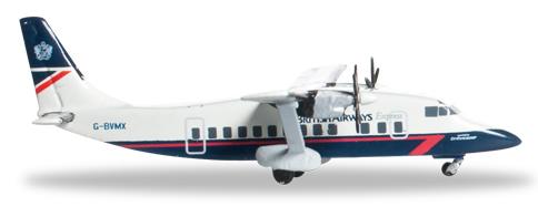 Herpa 527279 - Shorts 360 British Airways Express