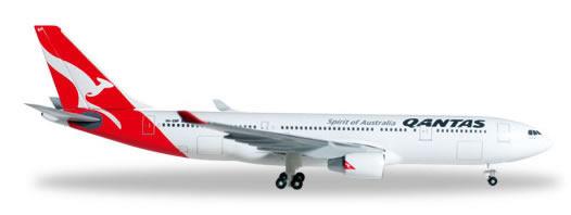 Herpa 527316 - Airbus 330-200 Qantas