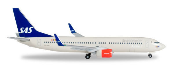 Herpa 527323 - Boeing 737-800 (36.95) SAS