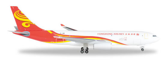 Herpa 527378 - Airbus 330-200f Hong Kong Airlines Cargo