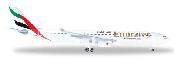 Herpa 527415 - Airbus 340-300 Emirates