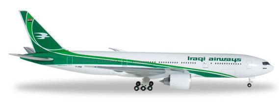 Herpa 527484 - Boeing 777-200lr Iraqi Airways