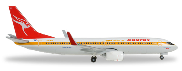Herpa 527637 - Boeing 737-800 Qantas - Retrojet