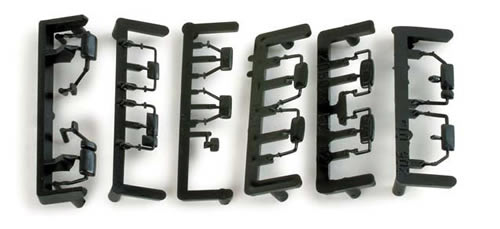 Herpa 52764 - Truck mirrors assembly 80th 3pcs