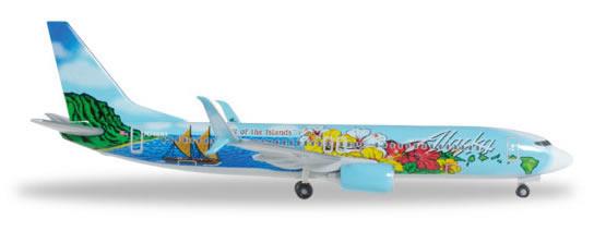 Herpa 527699 - Boeing 737-800 Alaska Airlines - Spirit Of The Is...