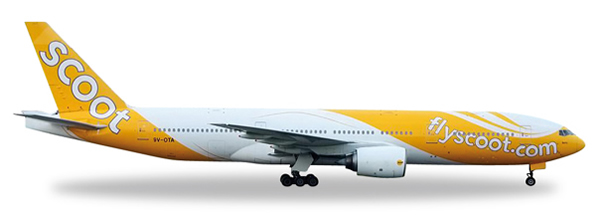 Herpa 527859 - Boeing 777-200er Scoot