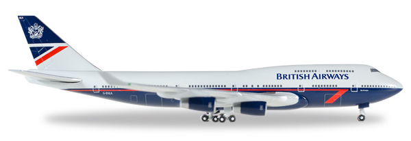 Herpa 528030 - Boeing 747-400 British Airways - Landor